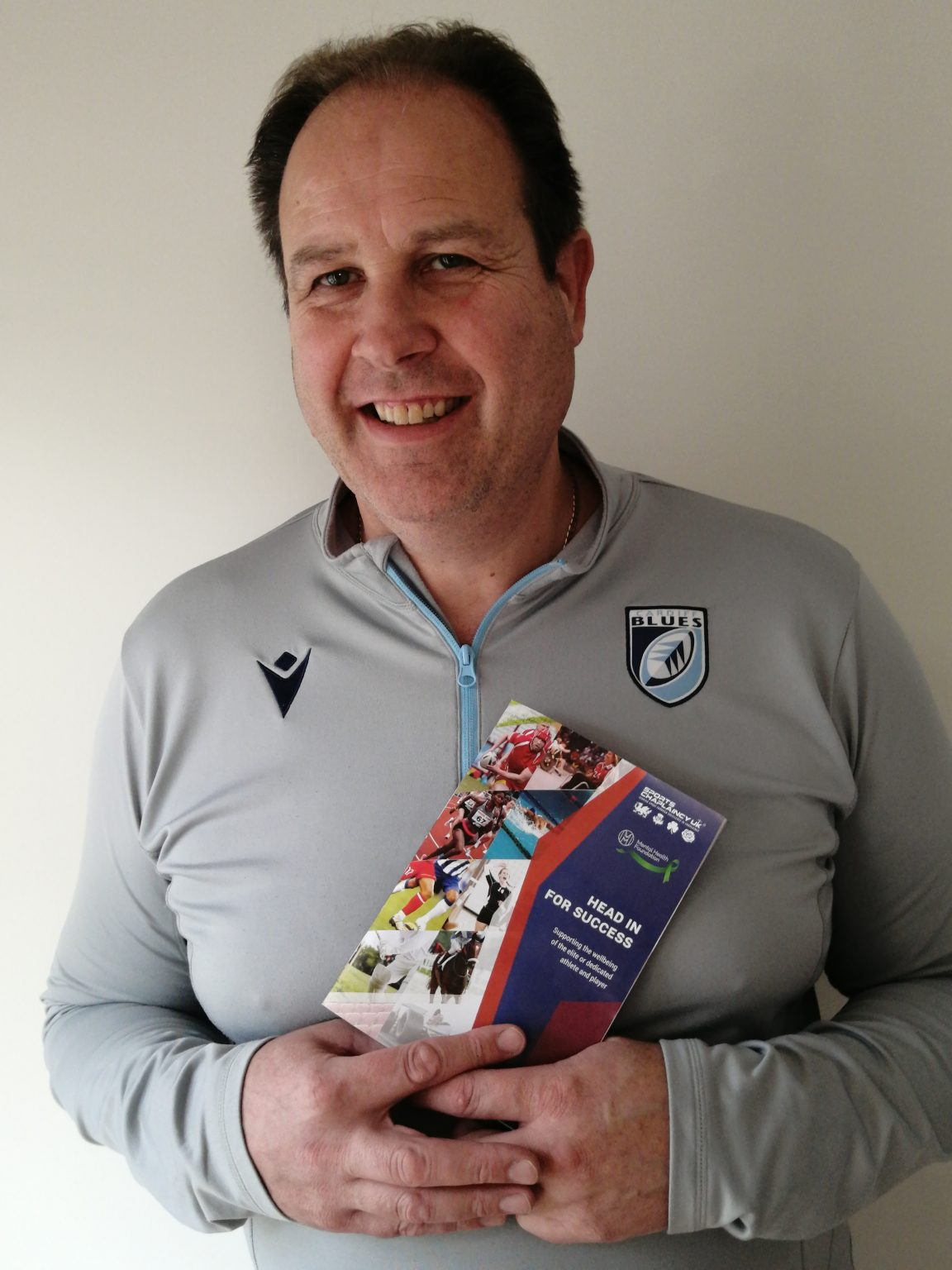 Here to help: with a booklet from Sports Chaplaincy UK
